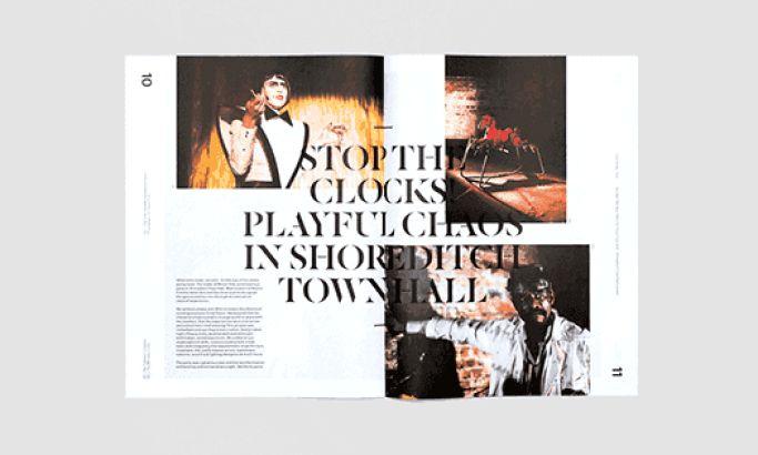 Trace Magazine Elegant Print Design