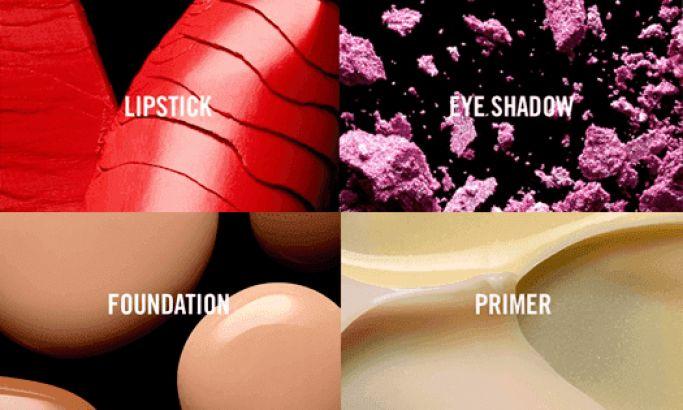 Mac Cosmetics Clean Website Design