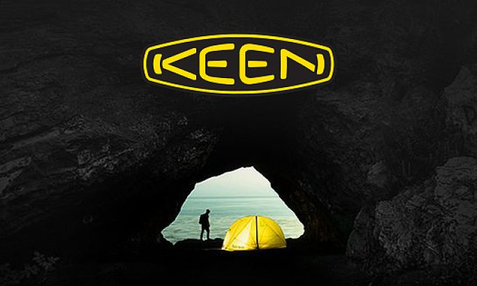 Keen Footwear Retail Website Design