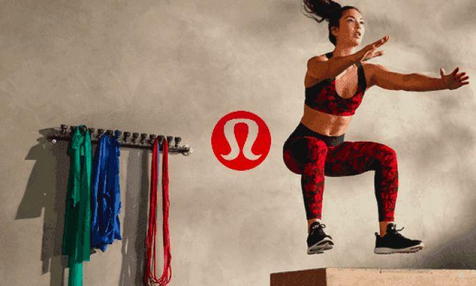 Lululemon Athletica Clean Website Design Inspiration