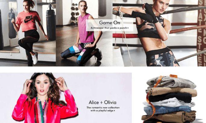 Neiman Marcus Luxury Website Design