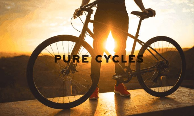 Pure Cycles Clean Website Design