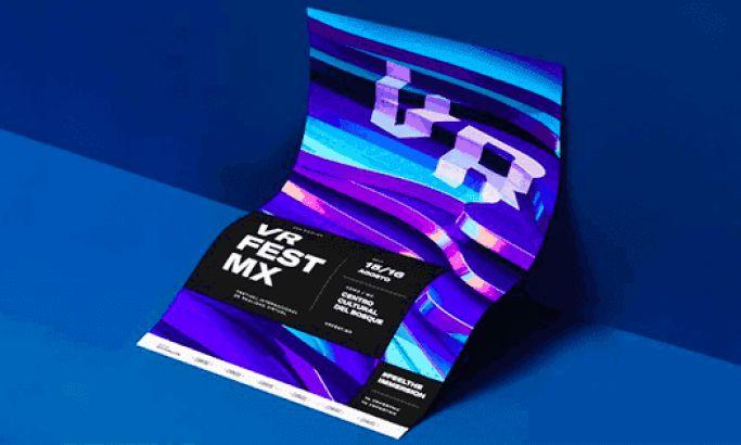 VR Fest Mexico Fun Print Design