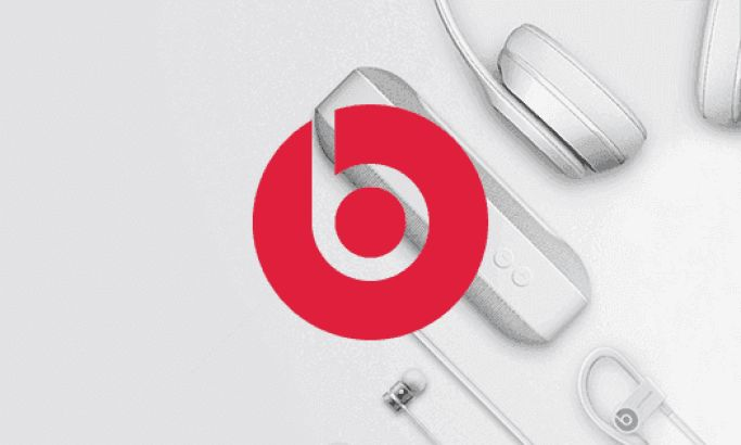 Beats By Dre Clean Website Design