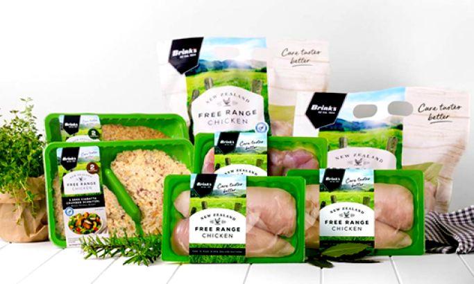 Brink Free Range Chicken Clean Package Design