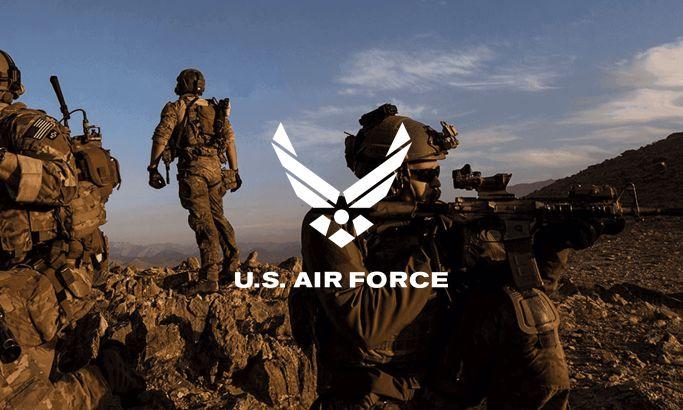 Air Force Beautiful Website Design