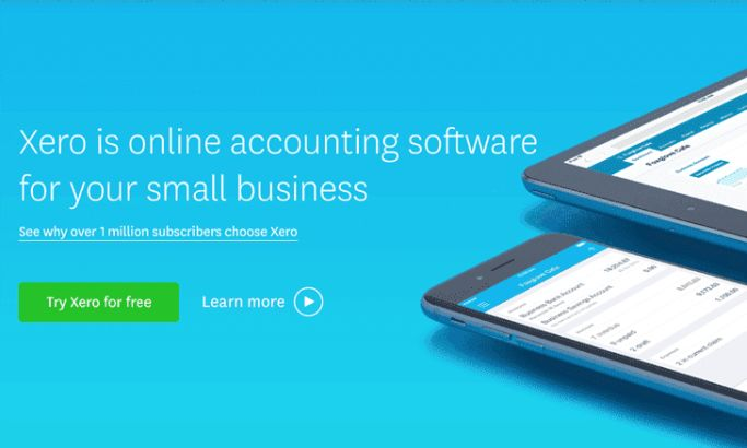 Xero Corporate Website Design