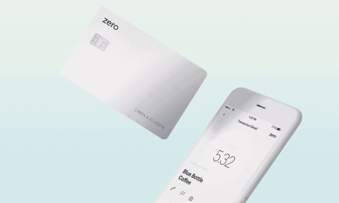 Zero Financial Minimal Website Design
