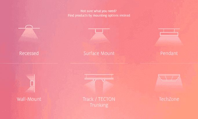 Zumtobel Colorful Website Design