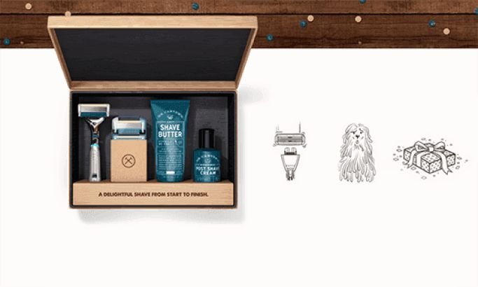 Dollar Shave Club Awesome Website Design