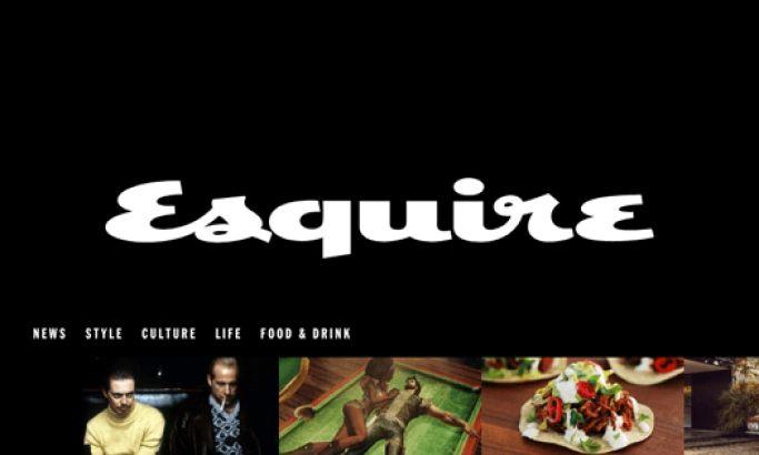 Esquire Minimal Website Design