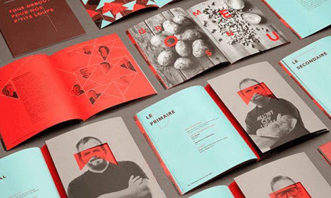 The Maison Théâtre Book Beautiful Print Design