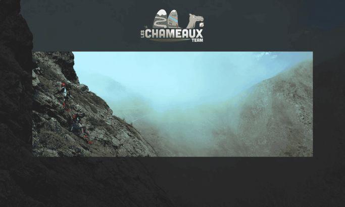 Team Les Chameaux Beautiful Website Design