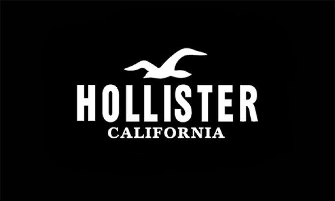 Hollister Clean Logo Design
