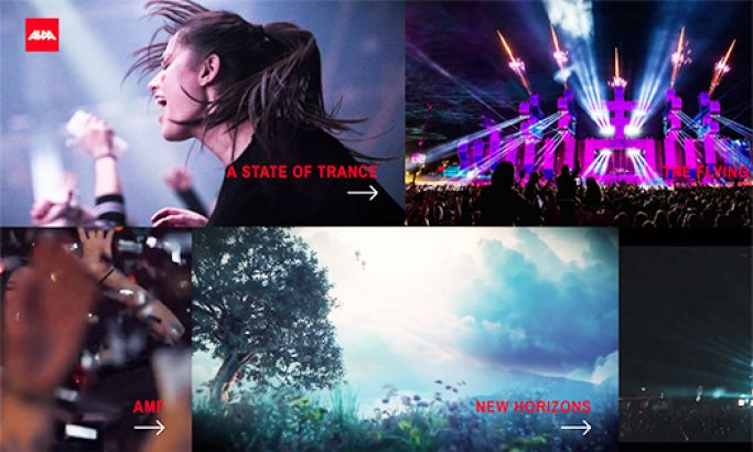 Alda Events Beautiful Website Design