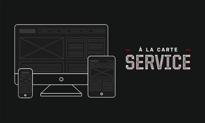 Fueled Dark Website Design