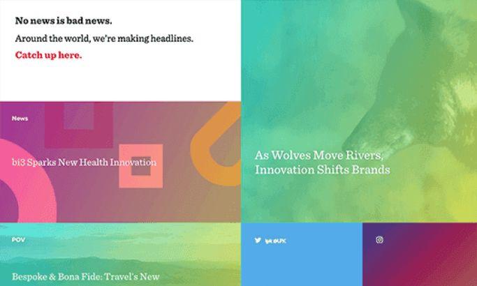 LPK Colorful Website Design