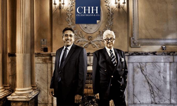 CH Hausmann Corporate Website Design