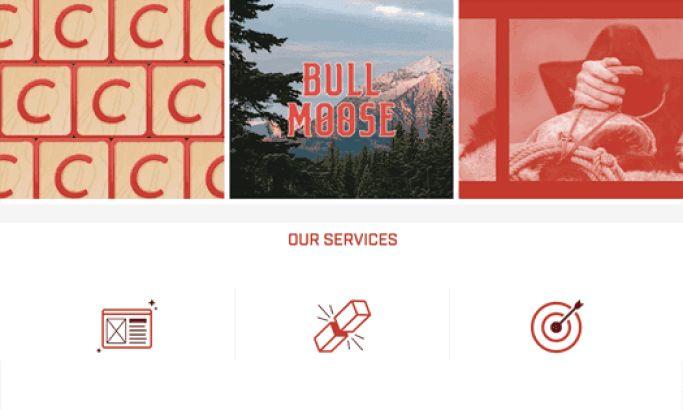 Masonry Beautiful Website Design