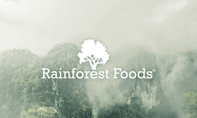 Rainforest Foods Beautiful Website Design