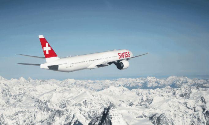 Swiss International Airlines Corporate Website Design