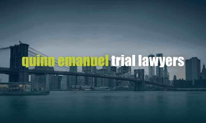 Quinn Emanuel Trial Lawyers Corporate Website Design
