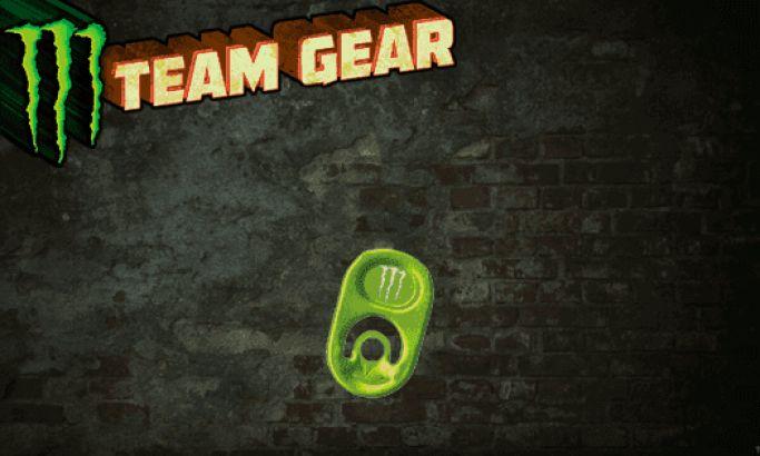 Monster Energy Gear Great Website Design