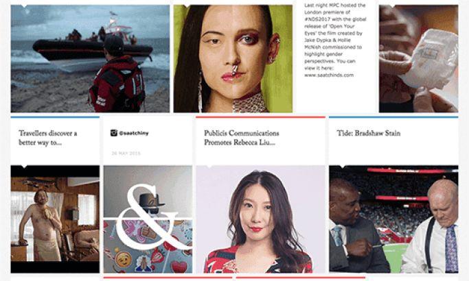 Saatchi & Saatchi Top Website Design