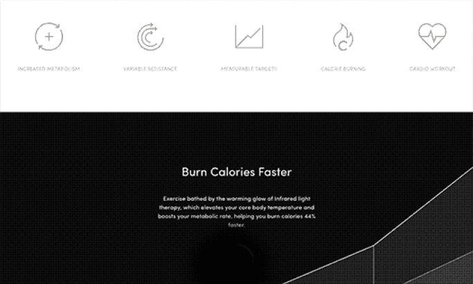Zero Fat Clean Website Design
