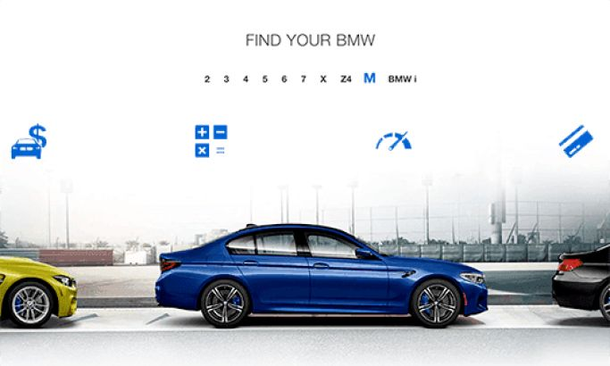 BMW USA Sleek Website Design