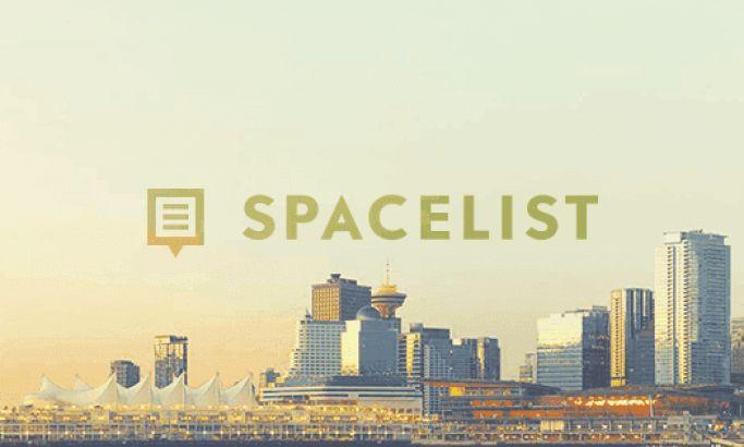 Space List Clean Website Design
