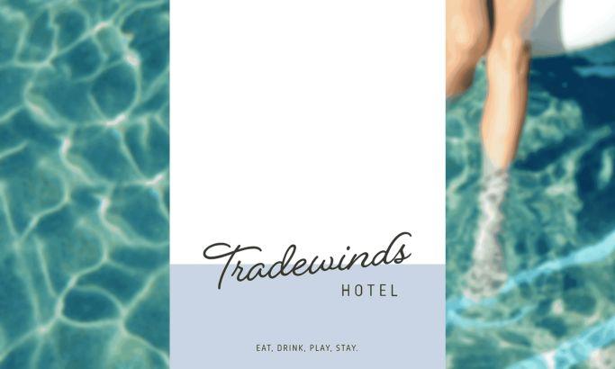 Tradewinds Hotel Beautiful Website Design