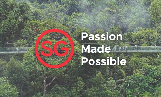 Visit Singapore Elegant Website Design