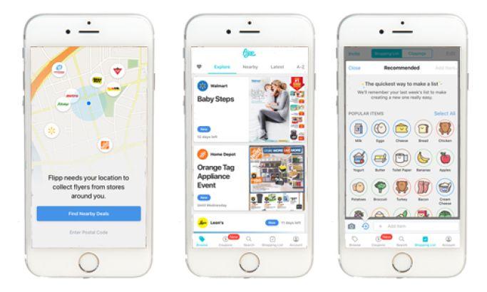 Flipp Bright App Design