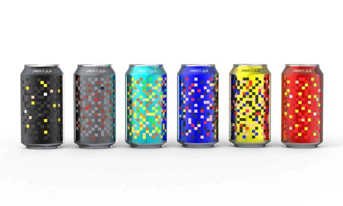 Pepsi X JLA Modern Package Design