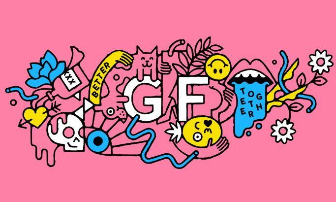 Ghostly Ferns Colorful Website Design