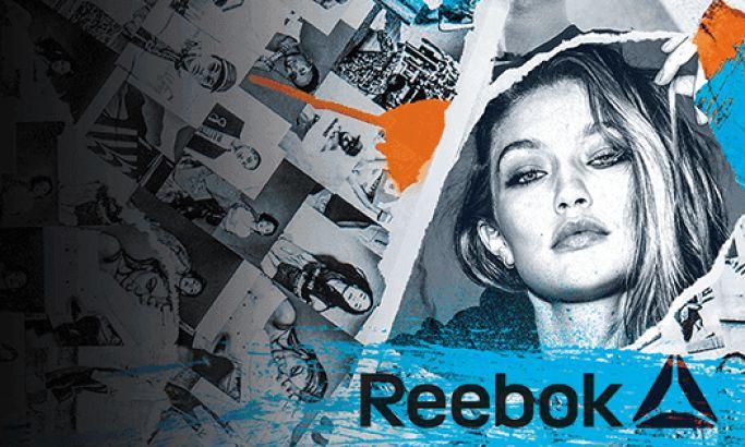Reebok Edgy Website Design Gigi Hadid