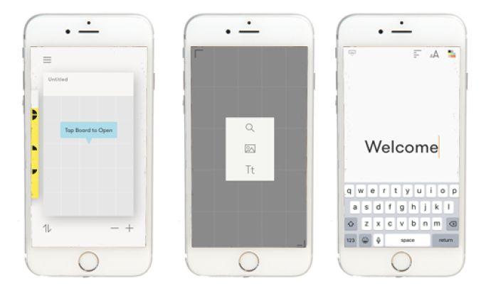 Curator Minimal App Design