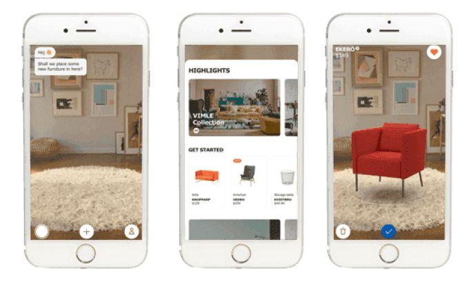IKEA Place Mobile App Design