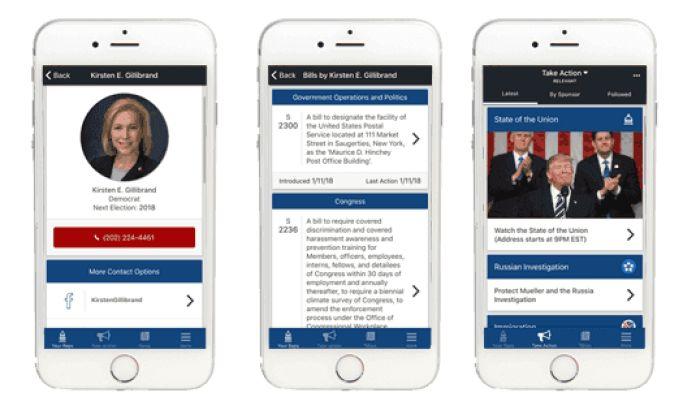 Capitol Call Corporate App Design