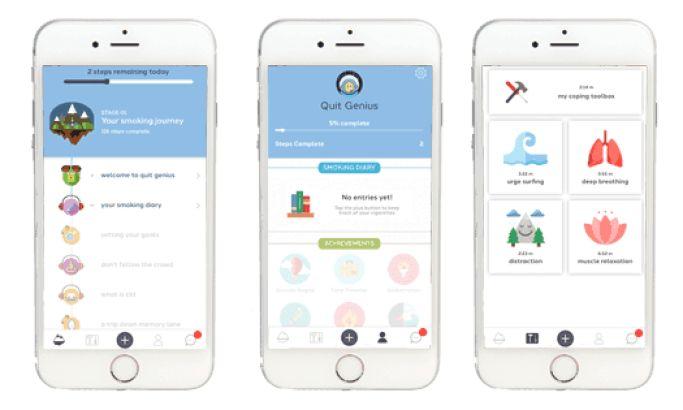 Quit Genius Stunning App Design
