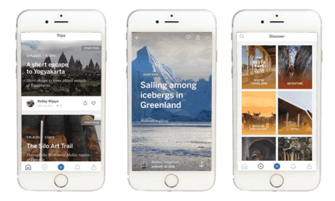 Trips By Lonely Planet's Visually-Driven App Design Makes Sharing Stories A Breeze