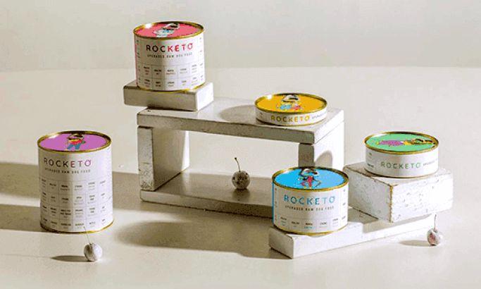 Rocketo Minimal Package Design