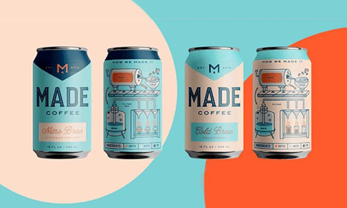 Made Coffee Playful Package Design