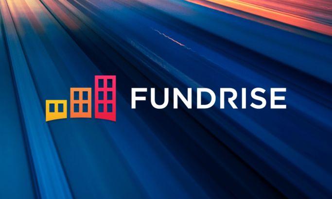 Fundrise Startup Website Design