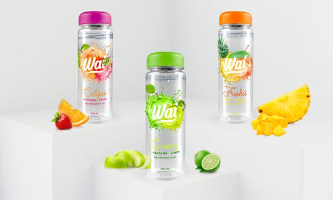 Wai Water Colorful Package Design