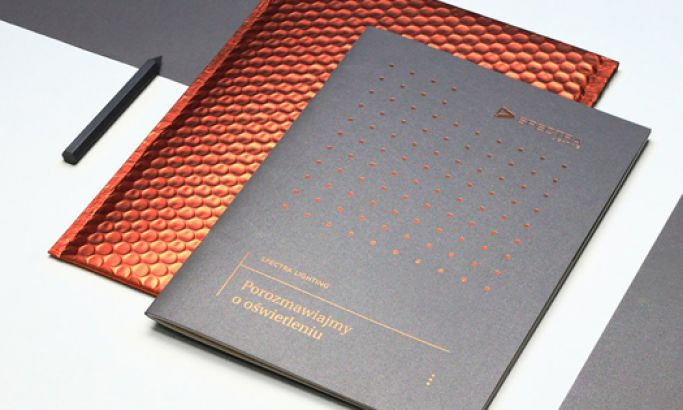 Spectra Lighting Catalog Minimal Print Design