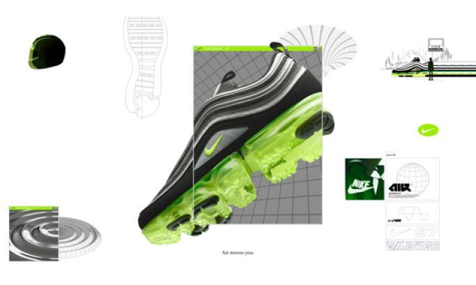 Nike Top Web Design