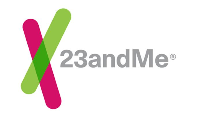 23andMe Clean Logo Design