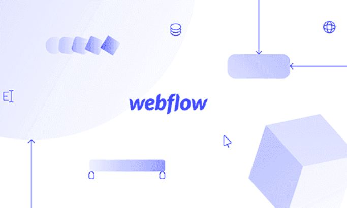 Webflow's Dynamic Site Utilizes Stunning Motion Graphics & An Enigmatic Color Scheme